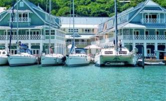 Marina Village Marigot Bay Apartment 5A