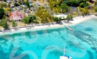 Plantation House Beachfront 9.75 acres  Admiralty Bay - Bequia