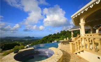 Mount du Cap - St.Lucia