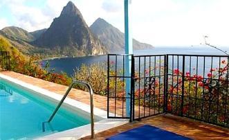 Les Pitons - St.Lucia