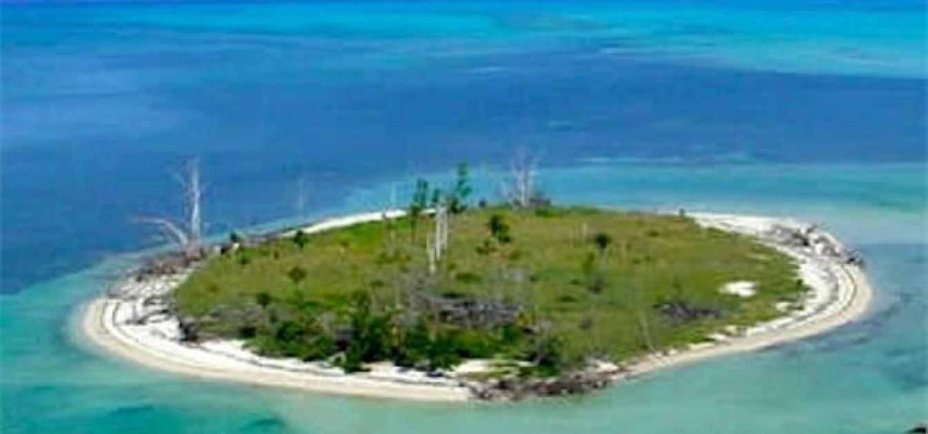 Private Island Sandy Cay