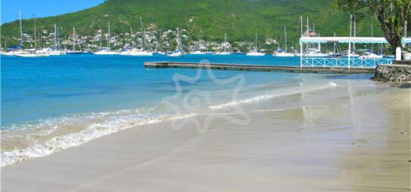 Plantation House Beachfront 9.75 Acres Admiralty Bay