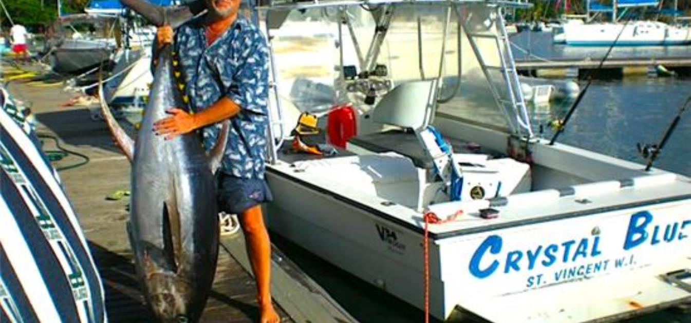 Crystal Blue 34ft Pirogue