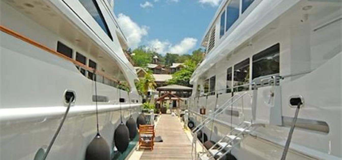 Lease for Yacht Berth Marigot Bay