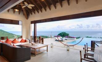 Silver Turtle Morpiceax Villa Luxury Canouan Villa